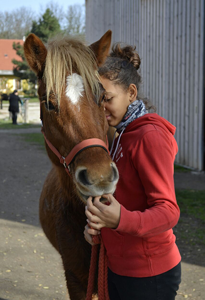 Laura mit Nykur vom Eibenhof