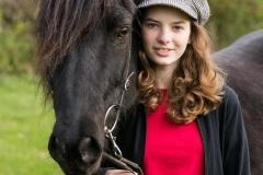 Clara mit Kolur von Lueg