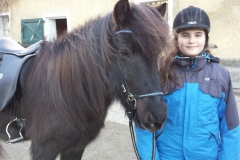 Madeleine mit Gleđi frá Einiholti